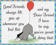 A cute and quirky card for a friend that lifts you up. Free online Good Friends Lift You Up ecards on Friendship Friends Day, Cards For Friends, Special Friends, Friendship Words, Miss You Cards, Online Greeting Cards, Love Hug, Cute Panda, Best Friend Quotes