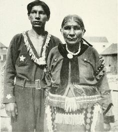 SANTU AND HER SON. JOE TONEY. Santu, 59, was a full-blood native of a tribe which called itself Osayana. The name is also known among the Micmac as Osayana. With her father she left Newfoundland at about the age of ten, or a little less, and removed to Nova Scotia, where she passed her early womanhood. Her mother was a Micmacwoman, one of the band who lived in New-foundland. She died, it seems, when Santu was quite young. Ahen Santu grew up, she married a Mohawk and spent part of her time…