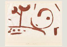 Paul Klee, Enfance, 1938, 358, couleur à la colle sur papier sur carton, 27 x 42,8 cm, Zentrum Paul Klee, Bern