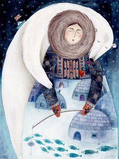 Откуда появились медведи. Иллюстрация: Kürti Andrea