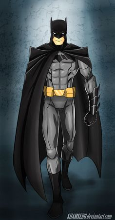 Batman by shamserg.deviantart.com on @deviantART