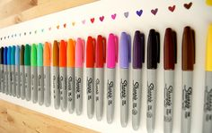 once you have children sharpie collections make you nervous! totally want this....