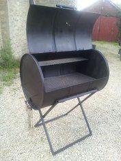 Cómo hacer un fumador de barbacoa de tambor de aceite, Diy Grill, Barbecue Grill, Grilling, Barrel Bbq, Barrel Smoker, Drum Smoker, Barbecue Design, Grill Design, Oil Drum Bbq