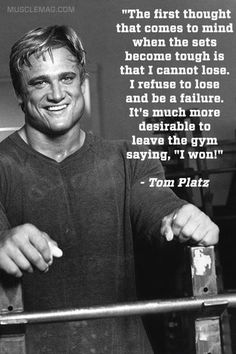 Tom Platz bodybuilding motivation
