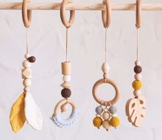 Boho Wooden Baby Gym Mobiles - Mustard Forest Source by baby mobile Vintage Baby Toys, Wooden Baby Toys, 9 Month Baby Toys, Handgemachtes Baby, Baby Play, Baby Girls, Homemade Baby Toys, Baby Toy Storage, Montessori Baby Toys