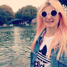 #wildfox #wildfoxbelair #adidas #canalsaintmartin #paris #pastelhair #style #sunglasses #look #mode #asos