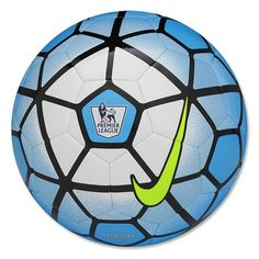 Nike Pitch PL Soccer Ball (Blue Lagoon/White/Black/Hyper Pink)