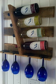Wall Wine Rack, Reclaimed Wood, 24 Stains to Fit Any Home Decor Wine Rack Wall, Wine Racks, Tiny House Living, Panel, Shop Ideas, Ideas Para, Fox, Woodworking, Stains