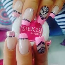 French stamp acrylic nails and make up ideas/hair colors,per Pedicure Nail Art, Nail Manicure, Nail Polish, Pretty Nail Colors, Pretty Nails, Perfect Nails, Gorgeous Nails, Matte Nails, Acrylic Nails