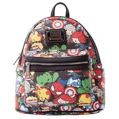 3fb4af69bf2 Marvel - The Avengers Kawaii Loungefly Mini Backpack - ZiNG Pop Culture