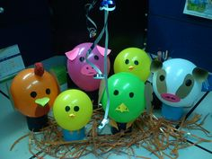 Farm animals to decorate my baby birthday party