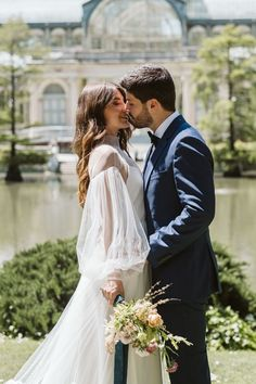 Milan park elopement portrait | Image by Blancorazon Wedding