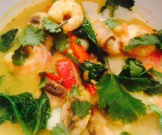 Day 5 - shrimp soup dinner