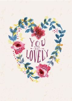 You Are Lovely - Rosie Harbottle