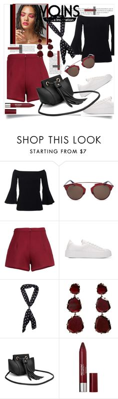 """""""# yoins"""" by slutskeran ❤ liked on Polyvore featuring Christian Dior, Anja, Annoushka and Revlon"""