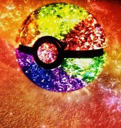 Somewhere over the Rainbow, a Pokeball awaits. Credits: ~Struck-Stock for the Marble ~Jonas-Daehnert for the Pokeball Shape ____________________________________________