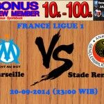 Prediksi Bola Marseille vs Stade Rennais FC 20-09-2014 FRANCE LIGUE 1