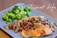 Steelhead Trout w/Currant Bacon & Onion Sauce | fastPaleo Primal and Paleo Diet Recipes