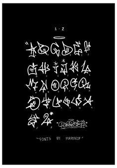 Graffiti Alphabet Styles, Graffiti Lettering Alphabet, Graffiti Words, Graffiti Doodles, Graffiti Writing, Graffiti Designs, Graffiti Wall Art, Graffiti Styles, Street Art Graffiti