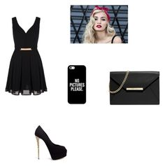 """""""Untitled #112"""" by andreeandree ❤ liked on Polyvore featuring Mela Loves London, Giuseppe Zanotti, MICHAEL Michael Kors and Casetify"""