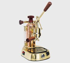 La Pavoni Europiccola ERG Manual - Copper/Gold for sale online Cappuccino Maker, Espresso Maker, Espresso Cups, Espresso Coffee, Italian Espresso Machine, Automatic Espresso Machine, Coffee Steam, Coffee Maker Machine, Baking Center