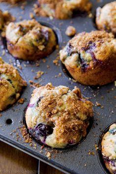 Favorite Blueberry Muffins Recipe | Sally's Baking Addiction