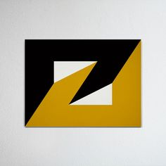 Hard-edged painting / geometric abstraction by British artist Gary Andrew Clarke Geometric Quilt, Abstract Geometric Art, Painters Tape Art, Room Paint Designs, Dazzle Camouflage, Barn Quilt Designs, Black Cat Art, Acrylic Pouring Art, Diy Art Projects