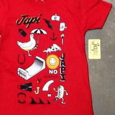Here's a sweet looking new shirt from Japi for all you kids out there! #japi #japinoworries