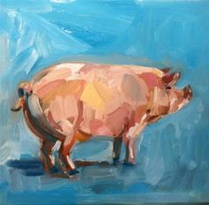 """Daily Paintworks - """"pretty in pink"""" - Original Fine Art for Sale - © Belinda Bell"""
