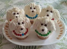 Poodle pupcakes :-)