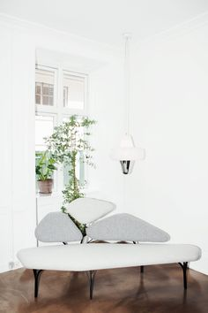 Leaning Toward Design's showroom in Copenhagen. La Chance's agent for Scandinavia openned this nice place in May where you will find the most iconic pieces of the collection. Oversized Mirror, The Good Place, Sofas, Lounge, Design, Decorating, Furniture, Live, Home Decor
