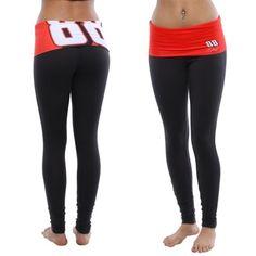 Dale Earnhardt Jr. Ladies Sublime Leggings - Black
