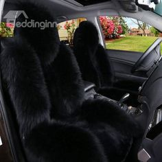 Luxurious And Durable Plush Material Super Cozy Universal Car Seat Cover