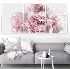 Wall art- Peony set – Oz Decor and Decor Interior Design, Interior Decorating, Wall Art Wallpaper, Peony Print, Pink Home Decor, Pink Peonies, Wall Canvas, Wall Prints, Canvas Prints