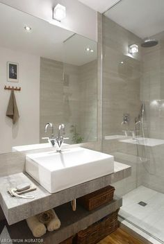 Galeria zdjęć - 13 pomysłów na małą łazienkę. Galeria inspirujących zdjęć - zdjęcie nr 10 - Muratordom.pl