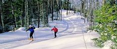 Cross country ski trails in MN. From exploreminnesota.com