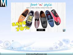 Buy Branded Footwear for man online in India Wide range of footwear for men like Formal Shoes, Casual Shoes, Sports Shoes, Loafer Shoes, Sandals & Slippers, Flip Flops, Mojari. Select from the best range of Men Footwear & Branded Shoes Online.