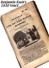 Benjamin Rush defends the Bible in public schools