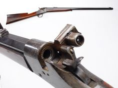 GUN OF THE DAY – Whitney Phoenix Rifle  The Whitney Arms Company of New Haven, CT decided to compete with Remington and our GOTD was part of that extended rivalry from 1867 to 1881. The Whitney Phoenix was a single shot that resembled the Remington rolling block, but the Phoenix had a hinged breechblock that flipped up to load. While offered in Sporting rifle, carbine and shotgun versions, as well as related military variations, our example is a civilian .40-70 rifle.