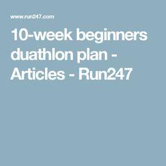 10-week beginners duathlon plan - Articles - Run247