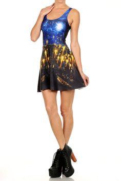 Great Hall Skater Dress | POPRAGEOUS