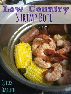 This low country shrimp boil recipe is enough to feed an army, plus it's super delicious and crazy easy!