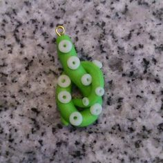 tentacle pendant with glowing grabbers Tentacle, Finger, Sculptures, Glow, Stud Earrings, Pendant, Jewelry, Earrings, Jewlery