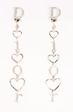 Christian Dior earrings <3