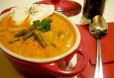 11 krémes főzelék 30 percen belül | NOSALTY Hungarian Recipes, Hungarian Food, Gravy, Thai Red Curry, Cooking, Ethnic Recipes, Minden, Kitchen, Salsa