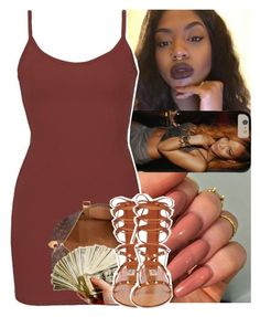 """"""""""" by daeethakidd ❤ liked on Polyvore featuring BKE core, Louis Vuitton and Valentino"""