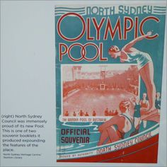 History of the North Sydney Olympic Pool which was built in 1936 and was known as The Wonder Pool of Australia.  A picture poster and photo of it when they still had the high diving board until it was removed in 1970.  ANCHOR Cafe & Restaurant - Taste the difference!  Credits to Simon Duffin for the picture  After a #swim some #history research on #northsydneyolympicpool by #anchor :) #anchorcafe #anchorrestaurant #anchorestaurant #milsonspoint #kirribilli #lavenderbay #northsydney…