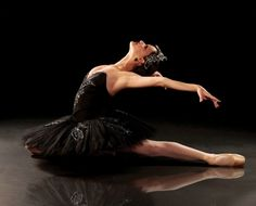Black swan - color, ballerina, expression, image, new, wallpaper