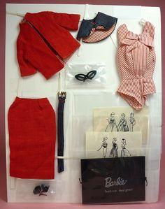 """(¯`'•.ೋ…       Robert Best- Fashion Designer for Barbie""""Busy Gal""""  Barbie Fashion #981"""