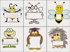 Preschool Names, Preschool Worksheets, Classroom Helpers, Rainbow Chevron, School Labels, School Frame, Borders And Frames, Matching Games, Stickers